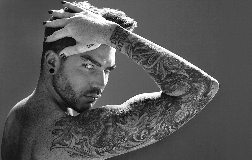 Ghost town adam lambert monster mile for Adam lambert tattoos